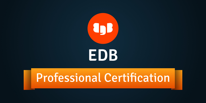 EDB 13 Professional Certification