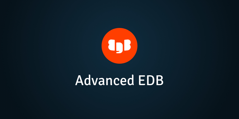 Advanced EDB v10