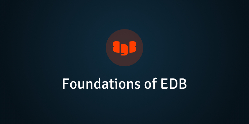 Foundations of EDB v11