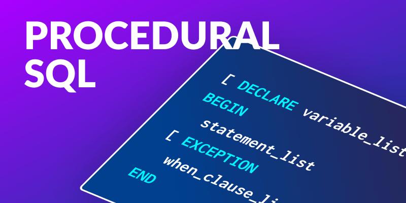 MemSQL Procedural SQL
