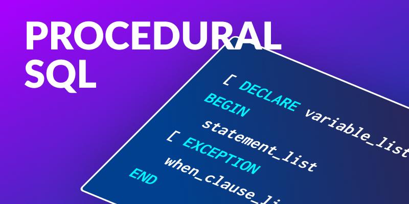 Procedural SQL